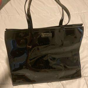Small Black Weekender Bag